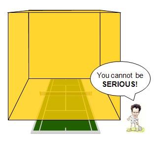 A 205000 tonne Gold Cube