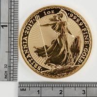 Britannia 1 Oz Gold Coin 2017