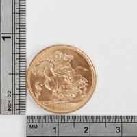 Sovereign Gold Coin 1958