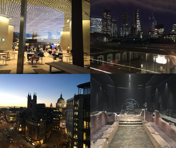 Snaps of Bloomberg's new European HQ in London