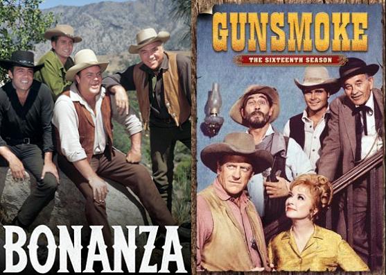 Bonanza vs. Gunsmoke: No black hats here