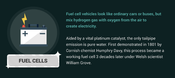 How do platinum fuel cells work?