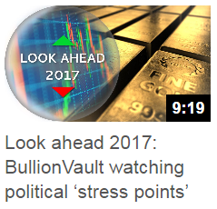 IG Index interviews Adrian Ash about the 2017 outlook for gold